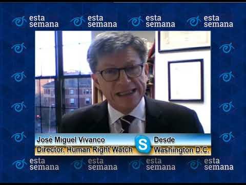 """José Miguel Vivanco: """"Hay consenso sobre la situación de Nicaragua en la OEA"""""""