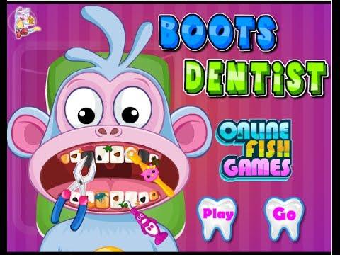 Dora The Explorer Online Games Dora Hygiene Dentist Game