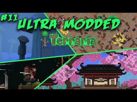 Plant Hunting | ULTRA MODDED TERRARIA | Episode 11