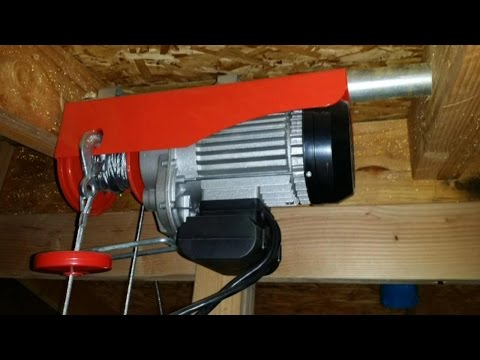 Harbor Freight 60347- 880 lb winch - How to install - YouTube on