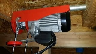 Harbor Freight 60347- 880 lb winch - How to install