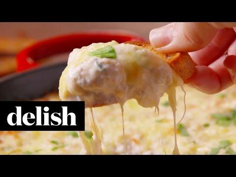Crab Artichoke Dip | Delish