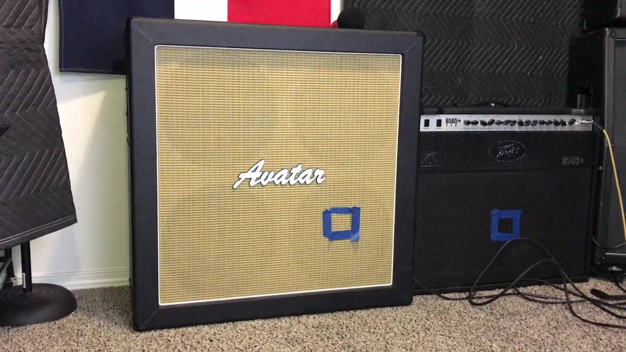 Avatar 412 Guitar Cab Review - YouTube