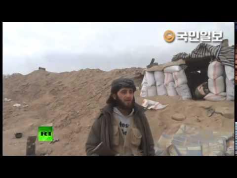 IS 홍보대장이 생방송 중 포탄을 맞아 사망했습니다    YouTube 480p