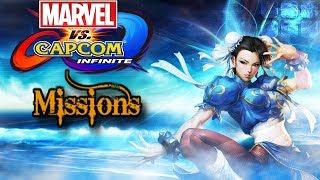 MARVEL VS CAPCOM INFINITE【CHUN LI MISSIONS 】  1080P