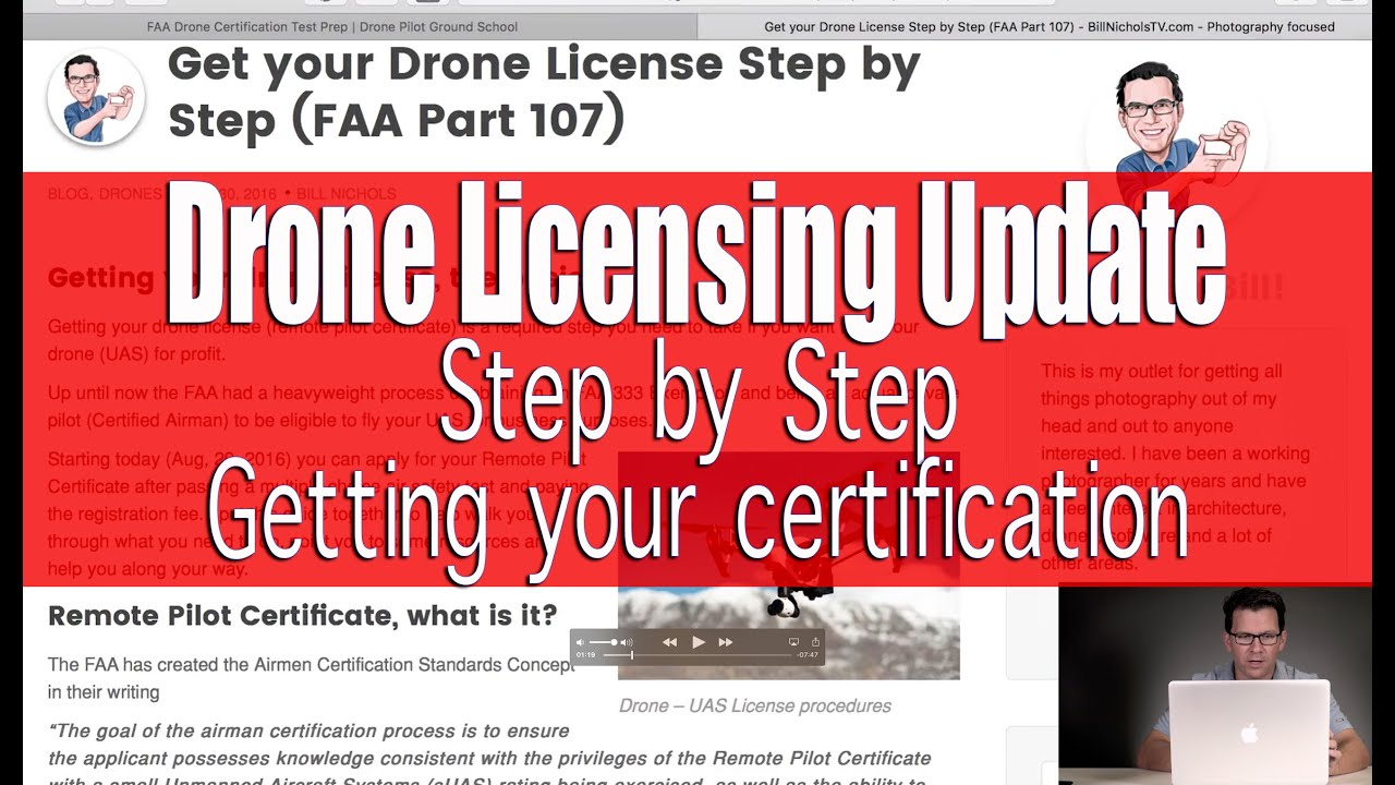 Faa part 107 drone license information update commercial drone faa part 107 drone license information update commercial drone use youtube xflitez Image collections