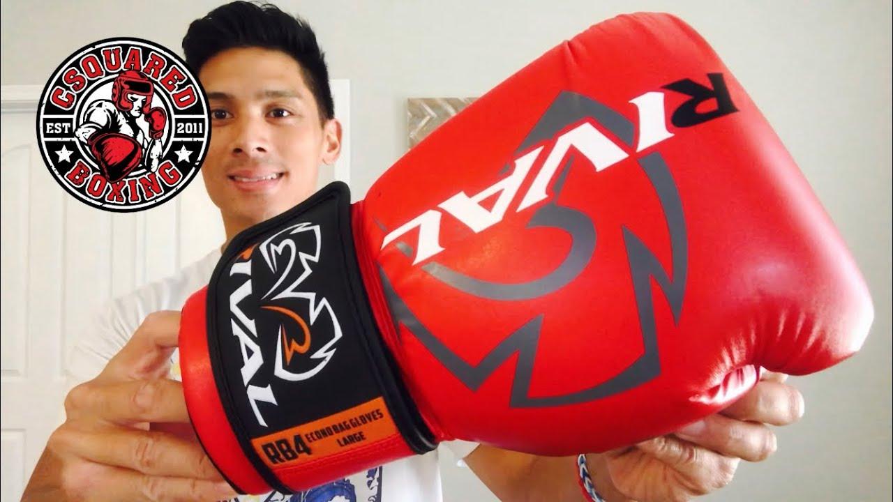 Rival RB4 Boxing Bag Gloves Econo White