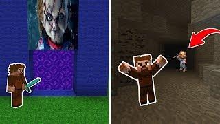 FAKİR ÇAKİ PORTALINA GİRİYOR! 😱 - Minecraft