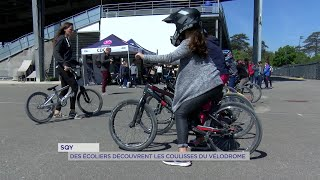 Yvelines | Sqy : des écoliers découvrent les coulisses du vélodrome