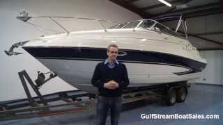 Glastron GS 259 Sports Cruiser For Sale -- Water Test and Walk Through by GulfStream Boat Sales