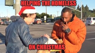 Helping The Homeless On Christmas!