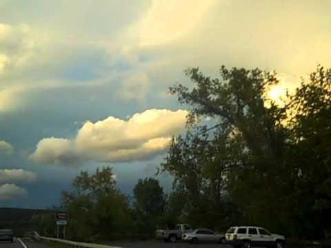 Post Hurricane Irene Kingston NY Sky & Rainbow