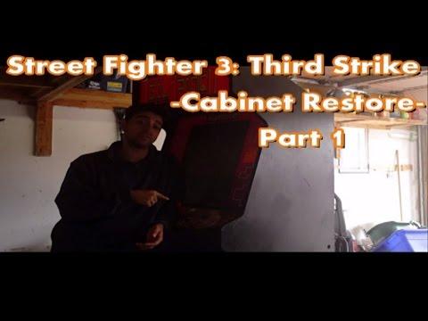 Top Tier Tech - Street Fighter 3: Third Strike - Cabinet Restore - Part 1 [HD]