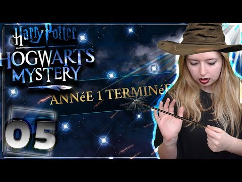MYSTÈRE A POUDLARD ? PASSAGE 2EME ANNÉES! #05 [Harry potter Hogwarts Mystery MOBILE] FR
