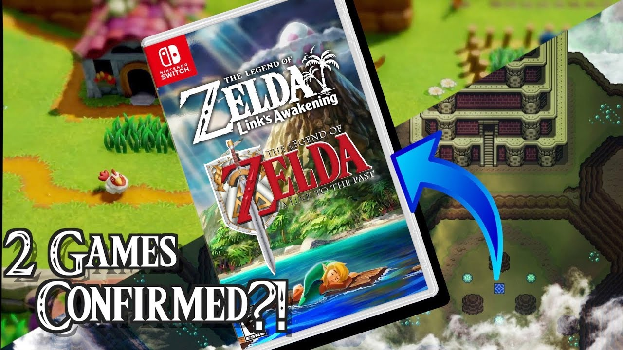 Zelda A Link To The Past Included In Link S Awakening Remake Youtube