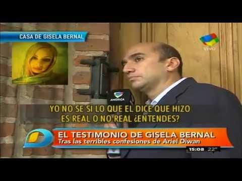 "Habló Gisela Bernal: ""Él supo todo, siempre, desde el primer momento, todo, todo..."""
