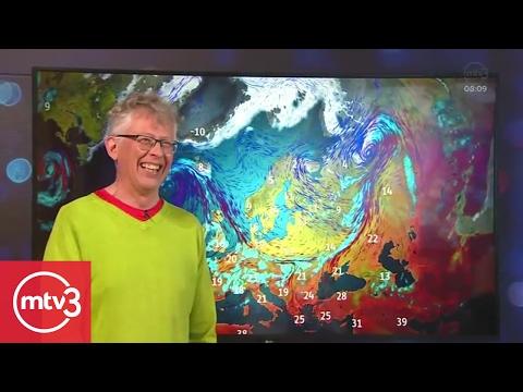 Pekka Pouta repesi kesken suoran uutislähetyksen! | MTV3