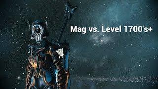 Warframe Mag Endgame 3hrs+ Solo Survival ( Pre - Buff )