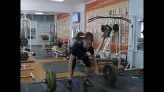 Тяжёлая атлетика Рахматуллин Альберт, 15 лет, собст. вес 74 Рывок 80 кг