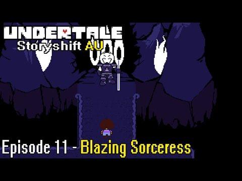 Storyshift: Episode 11 - Blazing Sorceress(Undertale Comic Dub)
