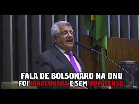 Discurso de Bolsonaro na ONU.