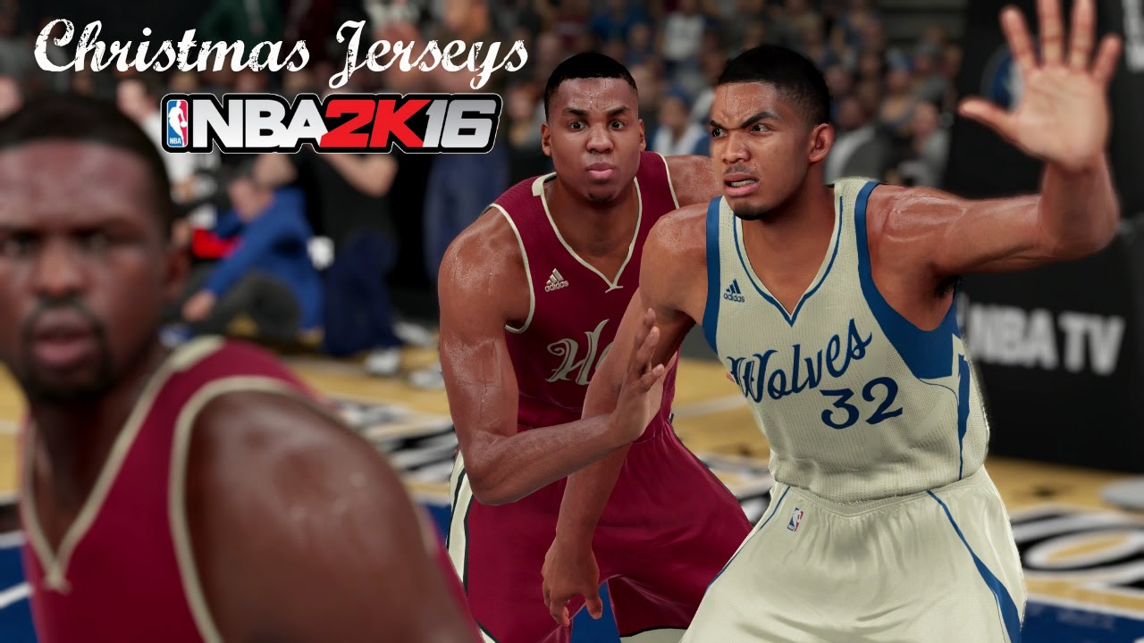 357917c5d NBA 2K16 (PS4)  Christmas Jerseys Available For All 30 Teams! - YouTube