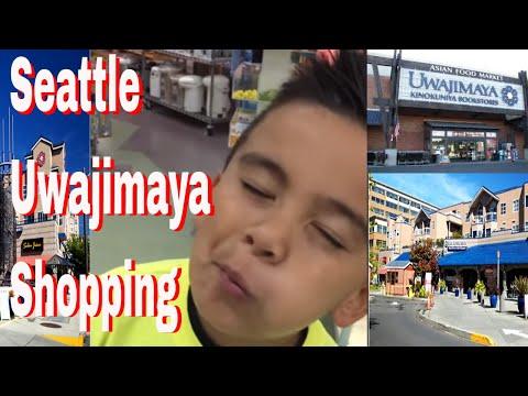 Exploring Asian Supermarket Family  Trip  Uwajimaya Chinatown  Seattle   OK4KIDS Video  35 (11-2)
