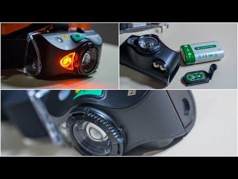 Аккумуляторный налобный фонарь LED LENSER MH8 (500972)