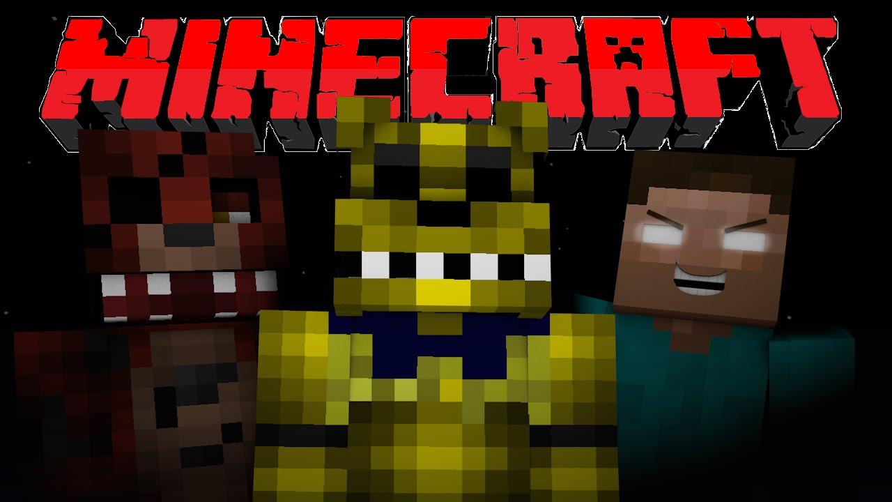 If FNAF Golden Freddy Played Minecraft