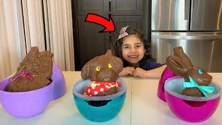 Johnny Johny Nursery Rhymes song - Chocolate Food vs Real challenge!!