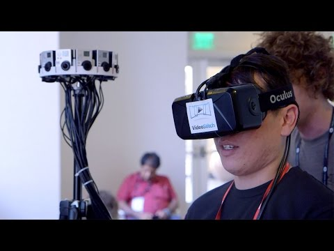360 Camera Rigs at Oculus Connect 2