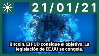 Bitcoin. El FUD consigue el objetivo. La legislación de EE.UU se congela.