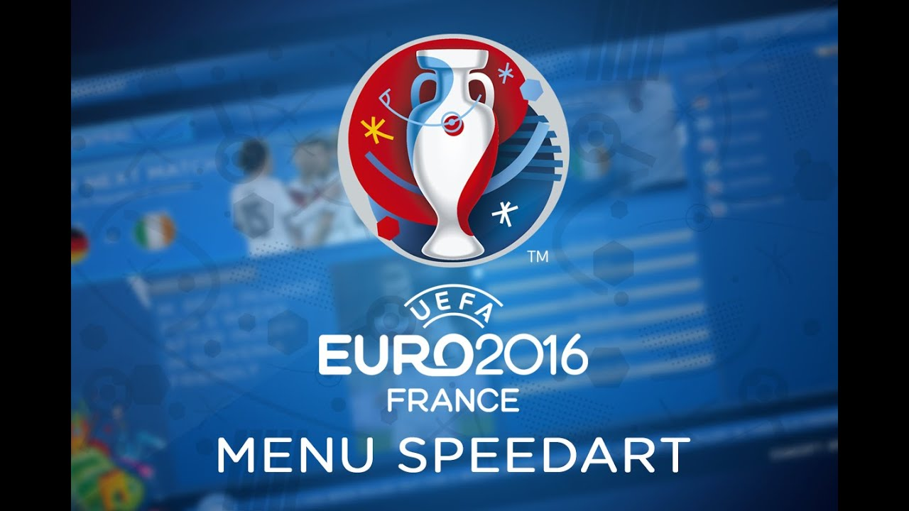 euro 2016 qualification central menu speedart 8 youtube. Black Bedroom Furniture Sets. Home Design Ideas