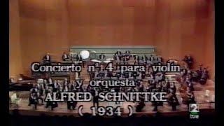 a schnittke 1934 1998 violin concerto nº 4 1984 violin fco j comesaña rtve