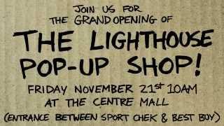 The Lighthouse Pop Up Cardboard Shop