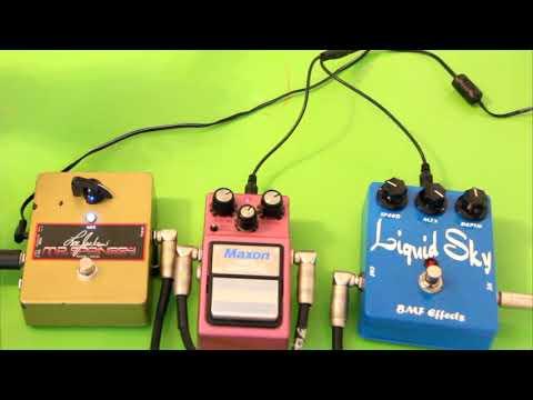 BMF Effects Liquid Sky Lush Chorus to Leslie Vibe V1 RARE