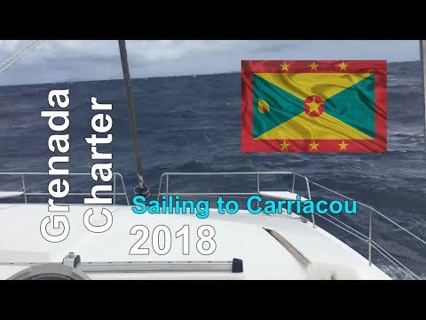 Sailing Grenada and the Grenadines - Sailing to Tyrell Bay on Carriacou