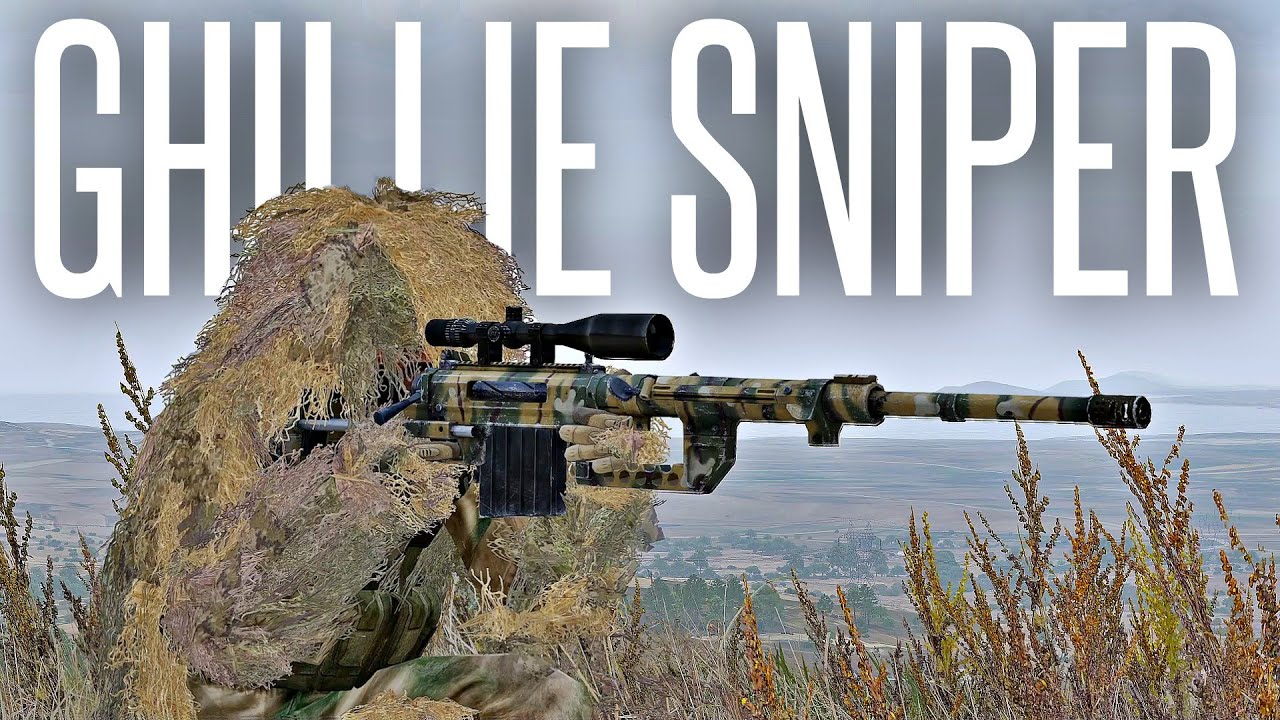 SOLO GHILLIE SNIPER PVP! - ArmA 3 Warlords Sniper Gameplay
