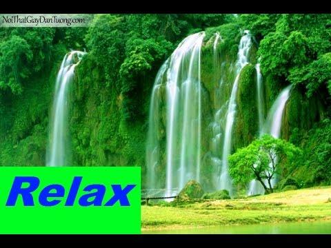 Nhạc thiền tĩnh tâm, thư giãn cùng tiếng suối chảy