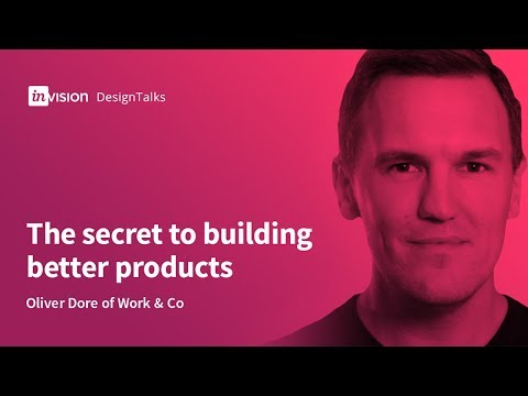 DesignTalk Ep. 58: The secret to building better products with Oliver Dore of Work & Co.