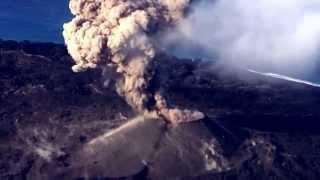 西之島新島 第7火口の噴火2015年11月17日 evolution of nishinoshima volcano