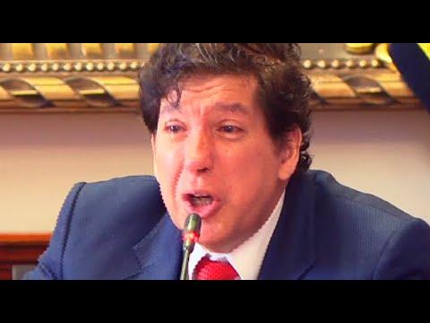 Iván Noguera: así fue la presentación del 'Dr. Rock' ante el Congreso