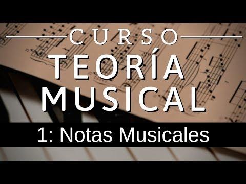 Teoria Musical 1: Notas Musicales (Nombres, frecuencias, tonos y semitonos)