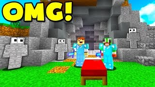 TROLLING YOUTUBERS IN MINECRAFT BED WARS! (Minecraft Trolling)