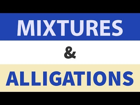 Mixtures & Alligation Tricks for SSC CGL | IBPS SBI - Bank PO /Clerk
