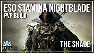 ESO Stamina Nightblade PvP Build - The Shade - Murkmire Patch