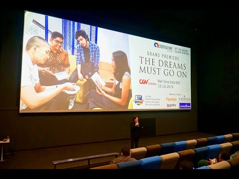 Event Video Grand Premiere Dreams Must Go on the Movie