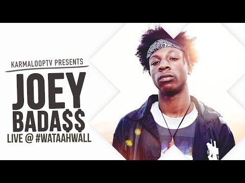 Joey Badass - performs live on the streets of Soho with WAT-AAH!