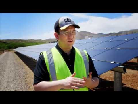 Energyst CAT Rental Power │ Caterpillar's hybrid solar-diesel microgrid