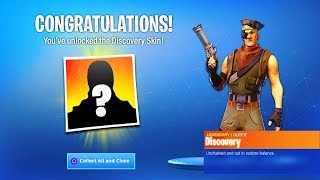 "*NEW* ""DISCOVERY SKIN"" in Fortnite Season 8! New Secret Skin! Mystery DISCOVERY SKIN Challenges!"